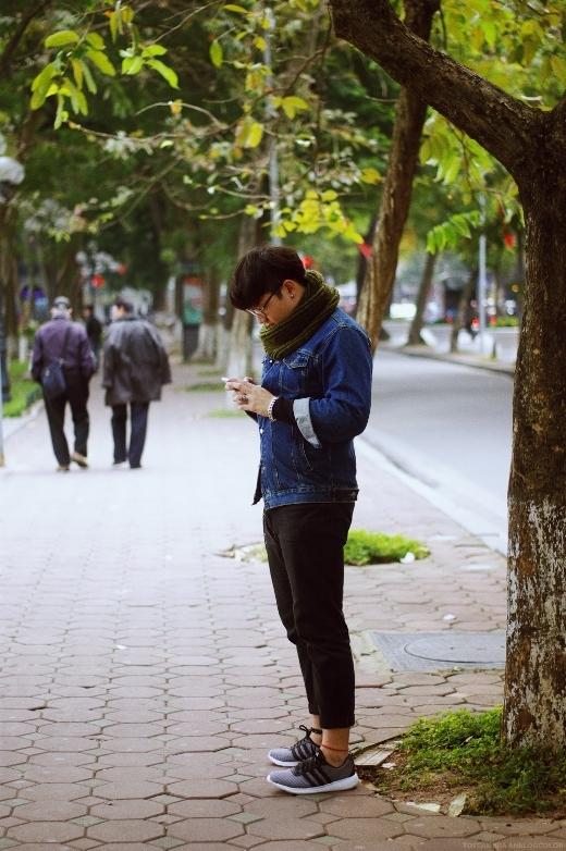Giới trẻ Hà Nội cá tính với phong cách thời trang mùa Đông