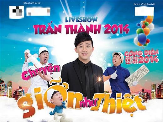 Trấn Thành là một trong số ít nghệ sĩ hài trẻ tuổi tổ chức được một liveshow riêng hoành tráng cho mình. - Tin sao Viet - Tin tuc sao Viet - Scandal sao Viet - Tin tuc cua Sao - Tin cua Sao