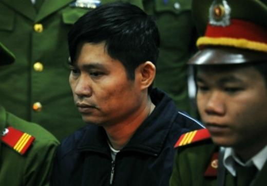 Bị cáo Nguyễn Mạnh Tường tại phiên xử sơ thẩm.