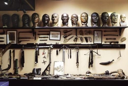 Bên trong bảo tàng tội phạm ghê rợn ở Anh