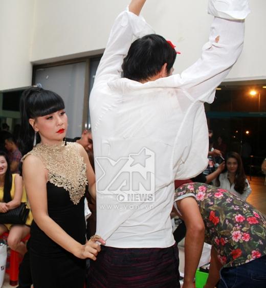Cặp đôi song Minh đỏ rực rỡ trong hậu trường Cặp đôi hoàn hảo - Tin sao Viet - Tin tuc sao Viet - Scandal sao Viet - Tin tuc cua Sao - Tin cua Sao