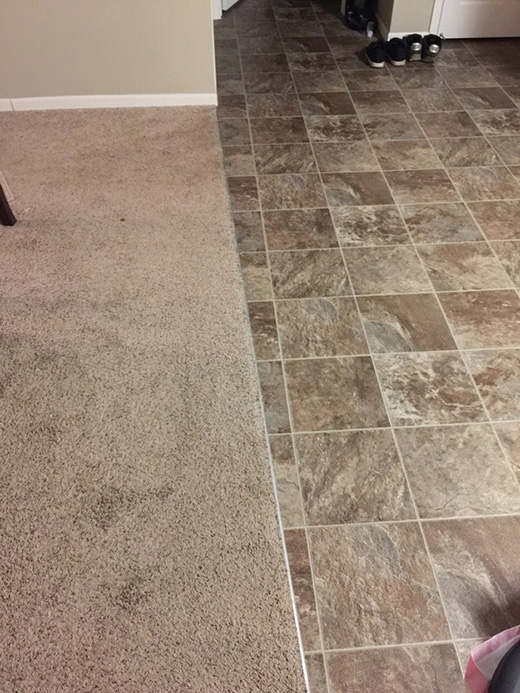 Tại sao không để cho tấm thảm lót sàn này được đặt một cách ngay ngắn, thẳng hàng hơn?
