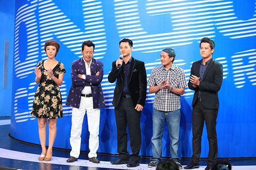 4 vị khách mời của tập cuối mùa đầu tiên.