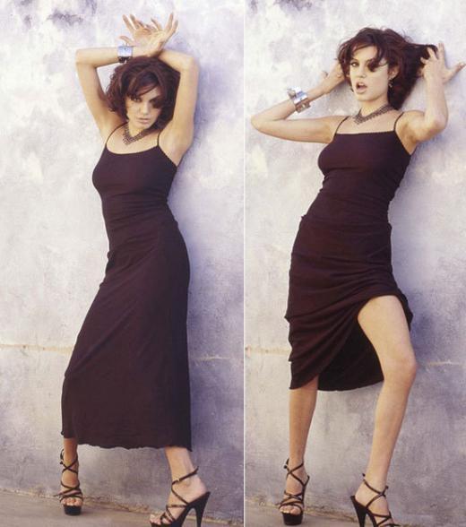 Angelina Jolie gợi tình trong loạt ảnh năm 19 tuổi
