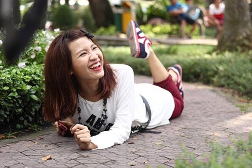Kim Nhã đôi khi cũng tự hại mình, cô nàng cũng có rất nhiều những khoảnh khắc bá đạo.