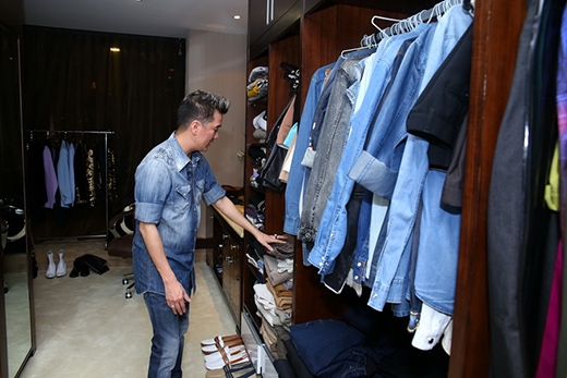 Choáng với tủ quần áo hàng hiệu của Đàm Vĩnh Hưng - Tin sao Viet - Tin tuc sao Viet - Scandal sao Viet - Tin tuc cua Sao - Tin cua Sao
