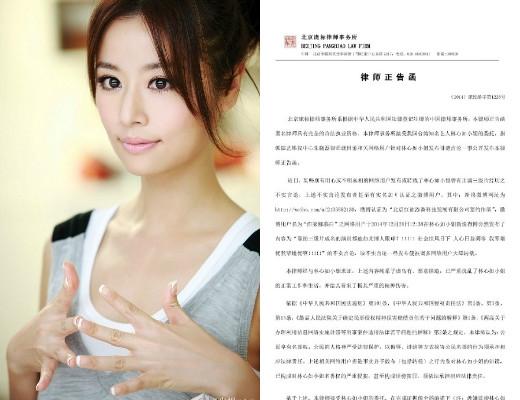 Lâm Tâm Như nhờ công ty luật viết đơn gửi ngay cho Blogger để cảnh cáo