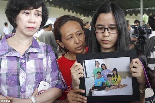 Người thân chia sẻ bức ảnh về những người trong gia đình đã có mặt trên chuyến bay