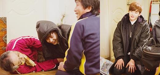 Lee Jong Suk diễn cảnh say mèm cực chuyên nghiệp