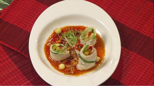 Và đây là một món ăn khác được giới thiệu trong chương trình