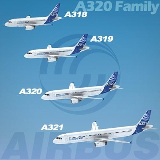 Airbus A320 là phản lực chở khách hai động cơ được đưa vào hoạt động năm 1988. Airbus muốn dùng A320 làm đối trọng với Boeing 737. Tính tới thời điểm hiện tại, có 11.163 đơn đặt hàng Airbus A320 các phiên bản nhưng mới chỉ có 6.331 chiếc được bàn giao cho khách hàng. Khoảng 300 hãng hàng không trên toàn thế giới đang sử dụng A320. Ảnh: Airbus