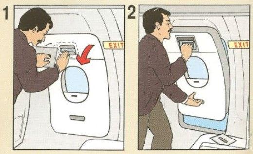 Thoát khỏi máy bay nhanh chóng khi có thể.