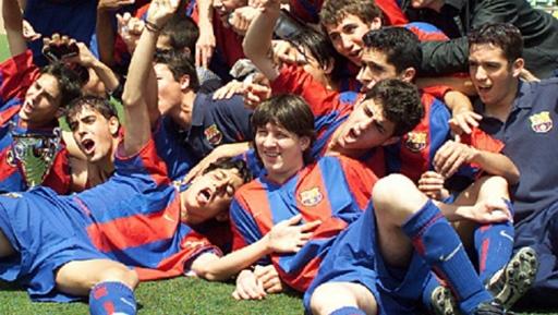 Án phạt của FIFA đánh mạnh vào hệ thống đào tạo trẻ, lò La Masia của Barca. Ảnh: EFE.