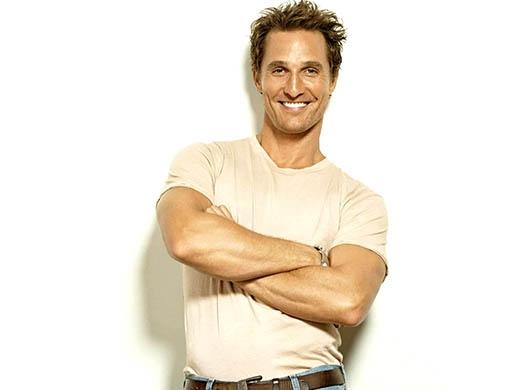 92. Matthew McConaughey (45 tuổi, diễn viễn Mỹ)