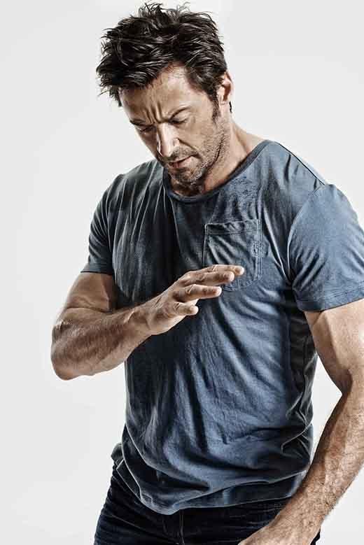 27. Hugh Jackman (46 tuổi, diễn viên người Úc)