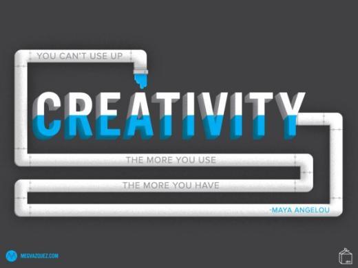 Meg Vanguez: Bạn không bao giờ có thể sử dụng hết sự sáng tạo. Càng sử dụng nhiều, bạn càng có thêm nhiều.
