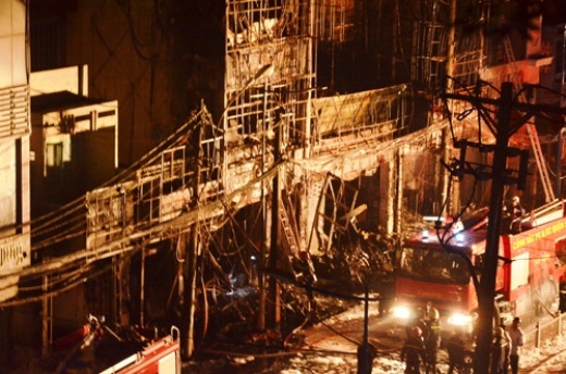 Vụ cháy 2 quán karaoke: Đã phát hiện thi thể 1 nạn nhân