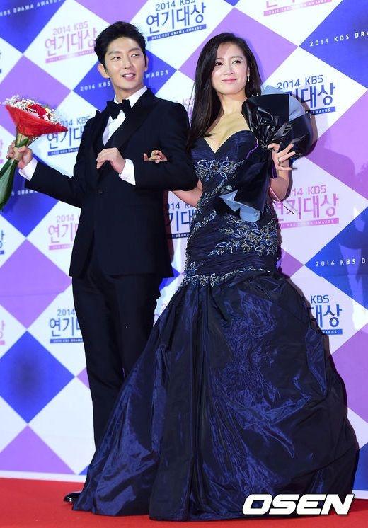 Lee Jun Ki & Nam Sang Mi trở thành Cặp đôi xuất sắc nhất do khán giả bình chọn