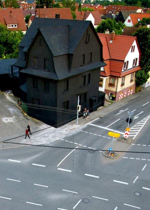 Một ngôi nhà có thật ở Đức.