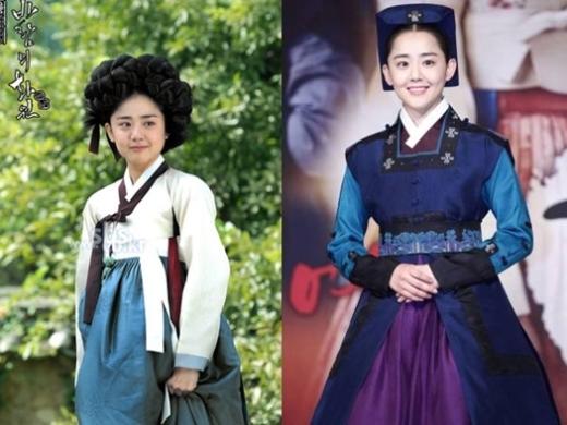 """""""Nữ thần lửa"""" Moon Geun Young trông cực đáng yêu trong trang phục cổ trang."""