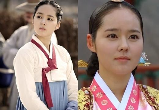 """.""""Nương tử"""" Yeon Woo (Han Ga In) trong The Moon Embracing The Sun chinh phục khán giả với vẻ đẹp trong sáng, thánh thiện."""