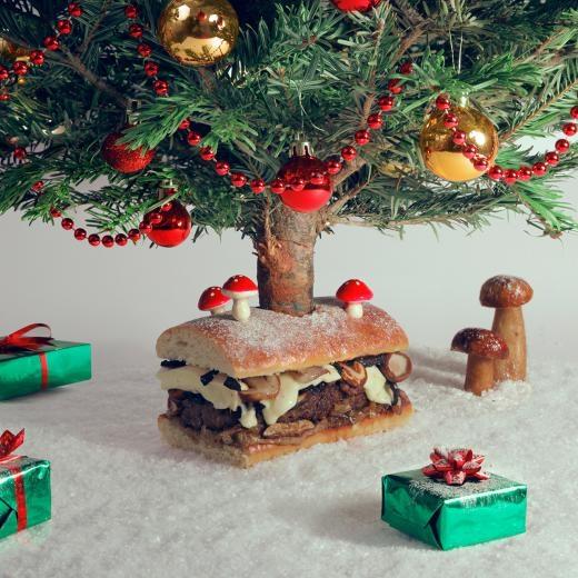 Burger Merry Cheesemas