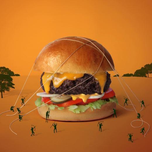 Burger Khổng lồ