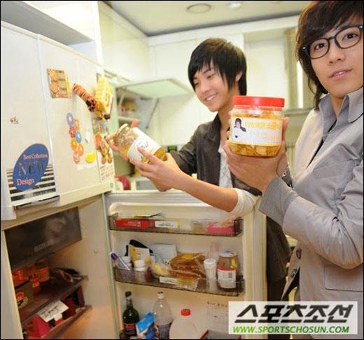 FT Island chia sẻ những đồ ăn trong tủ lạnh của nhóm (2009)