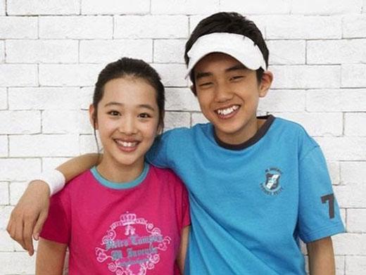 Yoo Seung Ho và Sulli thuở còn là diễn viên nhí (2005)
