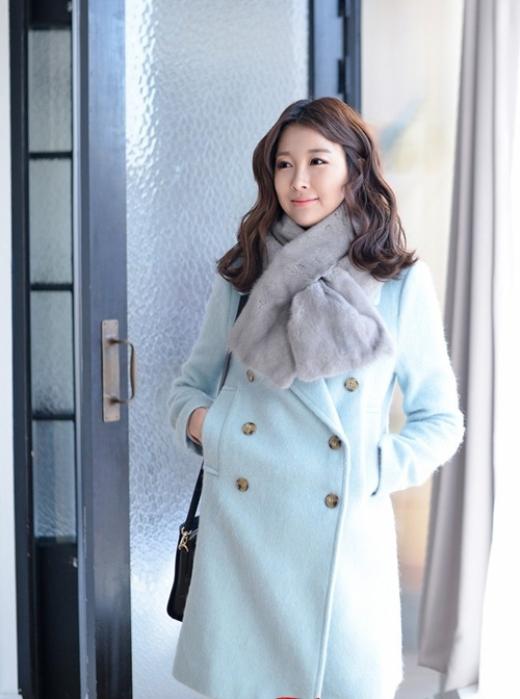 Áo khoác dạ dáng suông tuyệt đẹp hút hồn giới trẻ