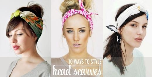 Bí quyết dùng khăn turban siêu đơn giản và thời trang