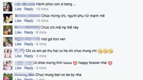 Rất nhiều bạn bè, người hâm mộ đã vào chúc mừng Kim Hiền. - Tin sao Viet - Tin tuc sao Viet - Scandal sao Viet - Tin tuc cua Sao - Tin cua Sao