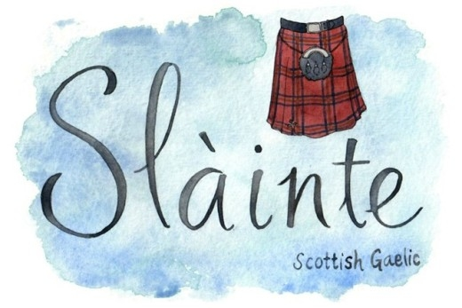 Để một bữa nhậu thêm tương bừng, người Scotland sẽ hô Slàinte