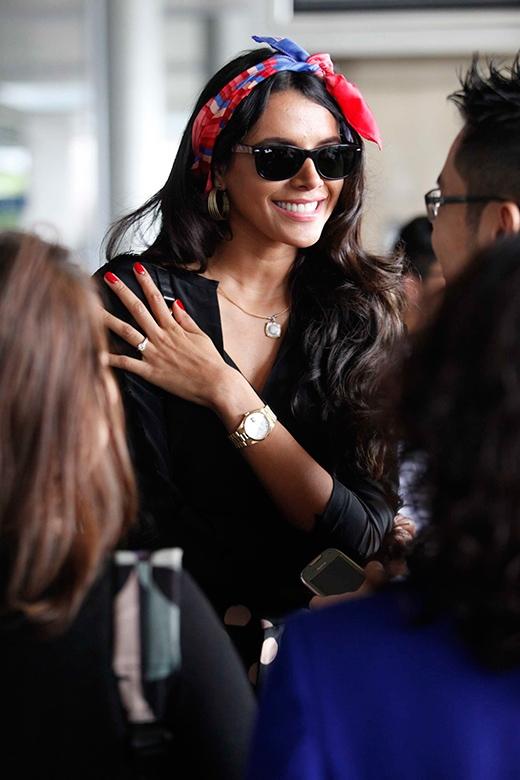 Nụ cười tỏa nắng của Hoa hậu Ivian Sarcos. - Tin sao Viet - Tin tuc sao Viet - Scandal sao Viet - Tin tuc cua Sao - Tin cua Sao