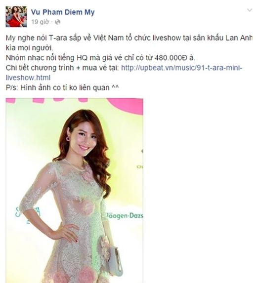 Ngô Kiến Huy, Diễm My 9x háo hức với T-ara Minishow tại Việt Nam - Tin sao Viet - Tin tuc sao Viet - Scandal sao Viet - Tin tuc cua Sao - Tin cua Sao