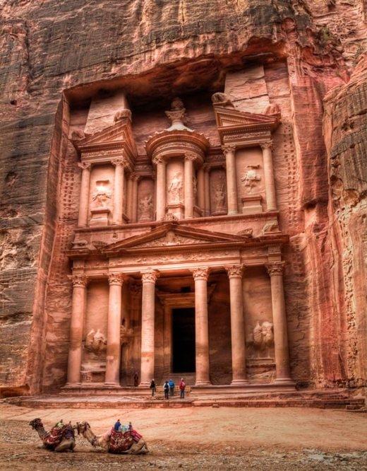 Di tích Petra ở Jordan