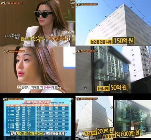 Sao Hàn hốt bạc với nghề tay trái