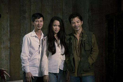 Đạo diễn Nguyễn Phan Quang Bình và 2 diễn chính của bộ phim. - Tin sao Viet - Tin tuc sao Viet - Scandal sao Viet - Tin tuc cua Sao - Tin cua Sao