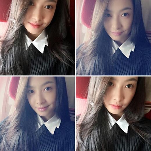 Victoria đăng tải hình cực trẻ trung khiến fan ngỡ ngàng.