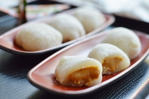 Bánh Mochi của Nhật Bản. Ảnh: Wordpress