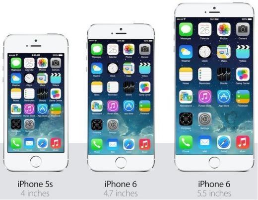 Doanh số iPhone 6 và 6 Plus cao kỷ lục.