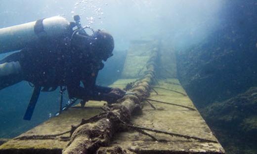 Hàn cáp quang biển bị đứt có thể mất 1 tháng