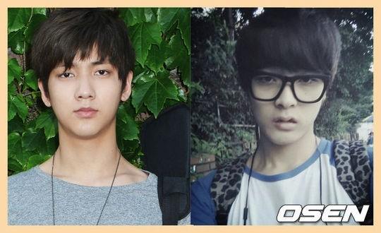 Hình ảnh hai thành viên đầu tiên của nhóm nhạc nam