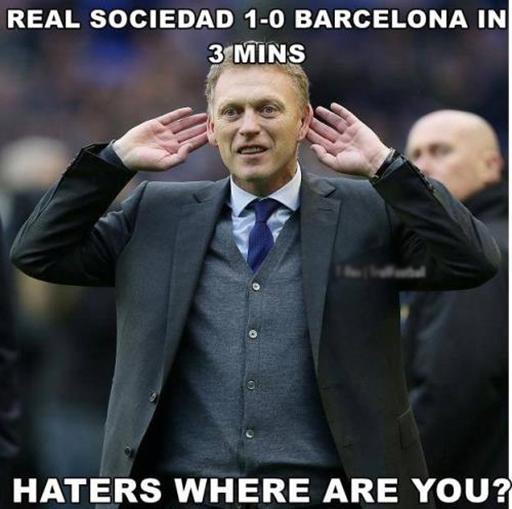 Real Sociedad 'giải quyết' Barca chỉ trong vòng ba phút, HLV David Moyes đáp trả mọi sự chỉ trích của những người ghét ông.