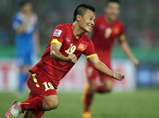Màn thể hiện ấn tượng tại AFF Cup 2014 khiến Thành Lương lọt vào mắt xanh của các nhà tuyển trạch Hàn Quốc. (Ảnh: Internet)