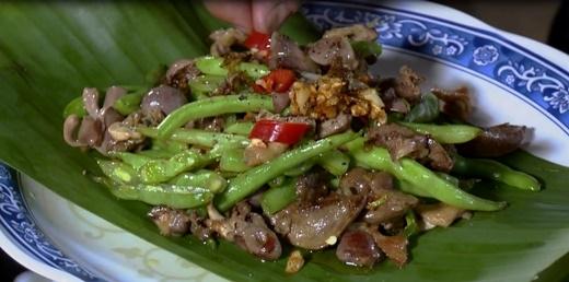 . Đĩa lòng gà độc đáo chỉ có ở vùng Lào Cai.