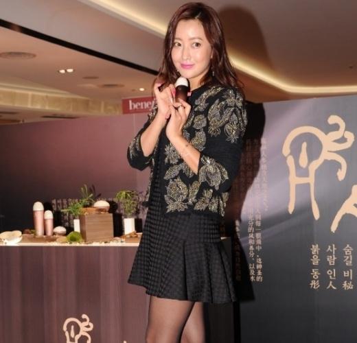 Kim Hee Sun trẻ trung trong sự kiện