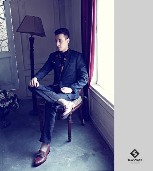 Thành Trung đã cho khán giả yêu thời trang thấy được sự nền nã trong những thiết kế vest thanh lịch!