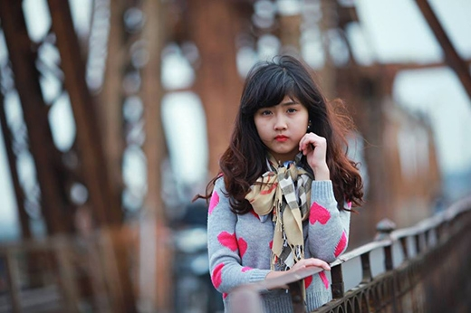 Bất ngờ với nét xinh xắn của nữ sinh 10x Hà thành