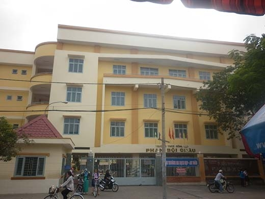 Ngôi trường bé Phước Hải theo học. Ảnh: Đặng Thanh